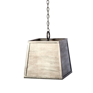 Lowcountry Originals Steel Box with Zince Panels Chandelier