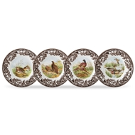 Canape Plates from Woodland Collection