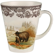 Black Bear Mug from Woodland Wildlife Collection