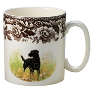 Black Lab Mug from Woodland Hunting Dogs Collection