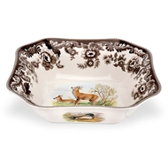Deer Square Serving Bowl from Woodland Collection