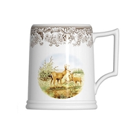 16oz Beer Tankard from Woodland Wildlife Collection