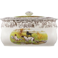Dogs Bread Bin from Woodland Hunting Dogs Collection