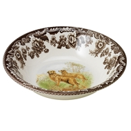 Golden Retreiver Cereal Bowl from Woodland Hunting Dogs Collection