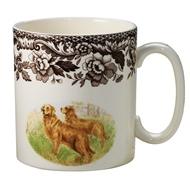 Golden Retreiver Mug from Woodland Hunting Dogs Collection
