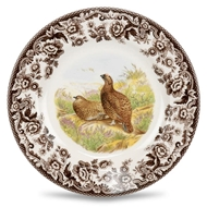 Red Grouse Salad Plate from Woodland Collection