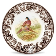 Pheasant Salad Plate from Woodland Collection
