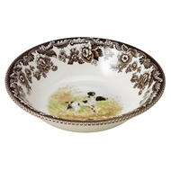 Pointer Cereal Bowl from Woodland Hunting Dogs Collection