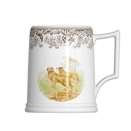 16oz Beer Tankard from Woodland Hunting Dogs Collection