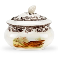 Snipe Pintail Covered Sugar Bowl from Woodland Collection