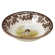 Spaniel Cereal Bowl from Woodland Hunting Dogs Collection
