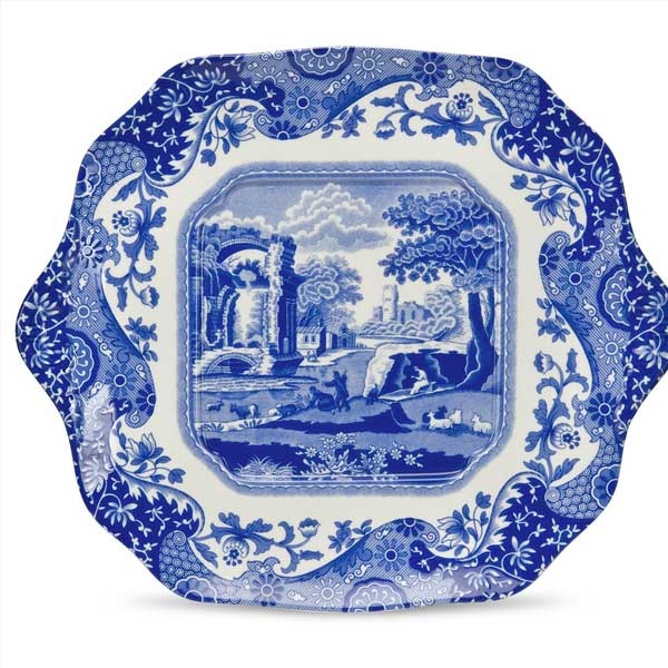 Spode Blue Italian English Bread u0026 Butter Plates  sc 1 st  Peace Love u0026 Decorating & Portmeirion Spode Blue Italian Dinnerware | Portmeirion Spode ...