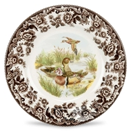 Wood Duck Dinner Plate from Woodland Collection