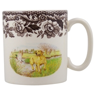 Yellow Lab Mug from Woodland Hunting Dogs Collection
