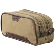 Mission Mercantile Ernest Double Zip Accessory Bag