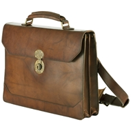 Mission Mercantile Benjamin Leather Briefcase