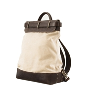 Mission Mercantile Heritage Waxed Canvas Steamer Backpack