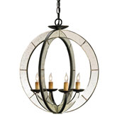 Currey & Company Lighting Meridian Chandelier