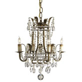 Currey & Company Lighting Laureate Chandelier Small