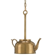 Currey Light Fixtures - 9647 Darjeeling Pendant - Brass Chandelier