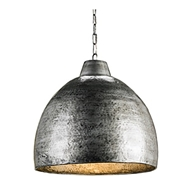 Currey Light Fixtures - 9782 Earthshine Pendant - Wrought Iron Chandeliers