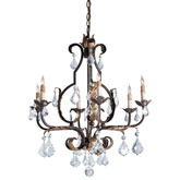Currey & Company Lighting Tuscan Chandelier Large