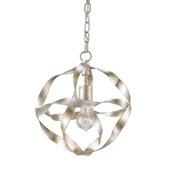 Currey Light Fixtures - 9839 Cordon Pendant - Wrought Iron Chandeliers