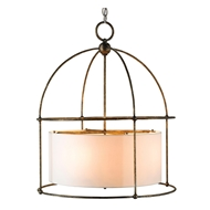 Currey Light Fixtures - 9885 Benson Lantern - Wrought Iron Chandeliers